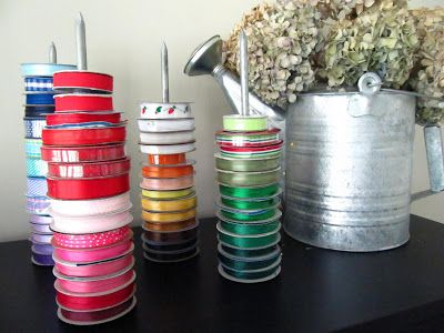 Sew Many Ways Tool Time Tuesday Quick Ribbon Organizer With