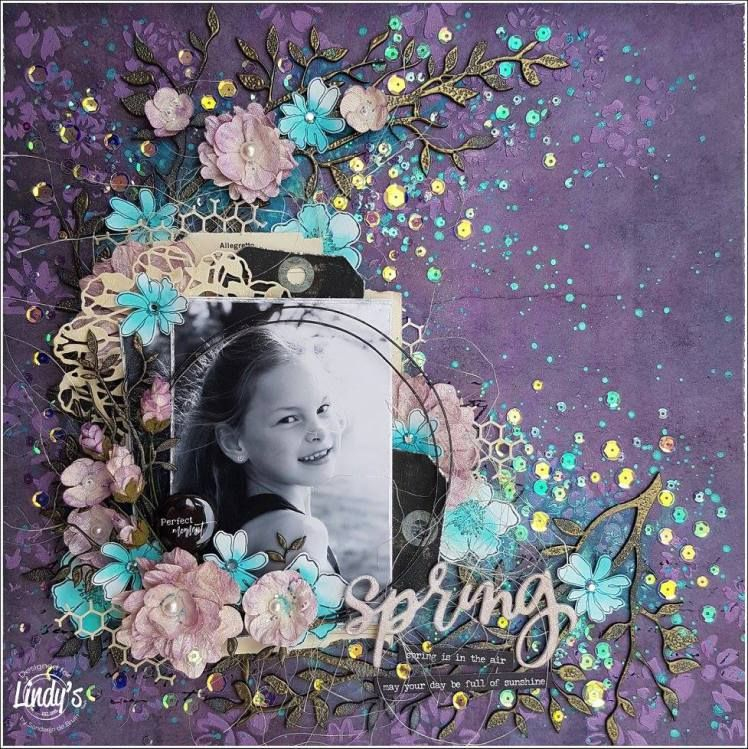 May Color Challenge – Lindy's Stamp Gang