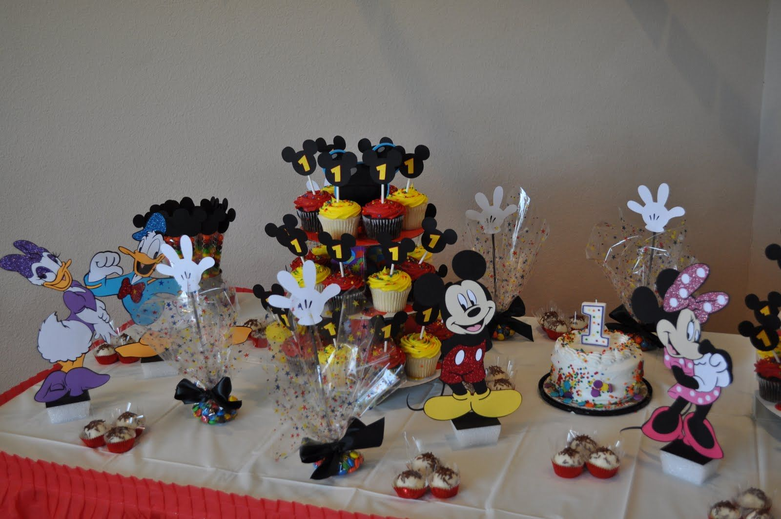 mickey mouse clubhouse birthday party ideas Tx Scrapper Mom