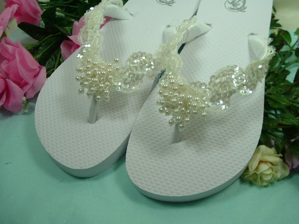 88abb1d079bbd1 Wedding Shoes FLIP FLOPS