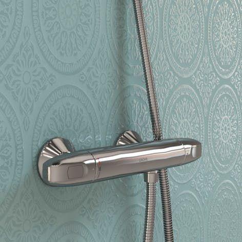 selkie raindrop textured blue shower panel   shower panels