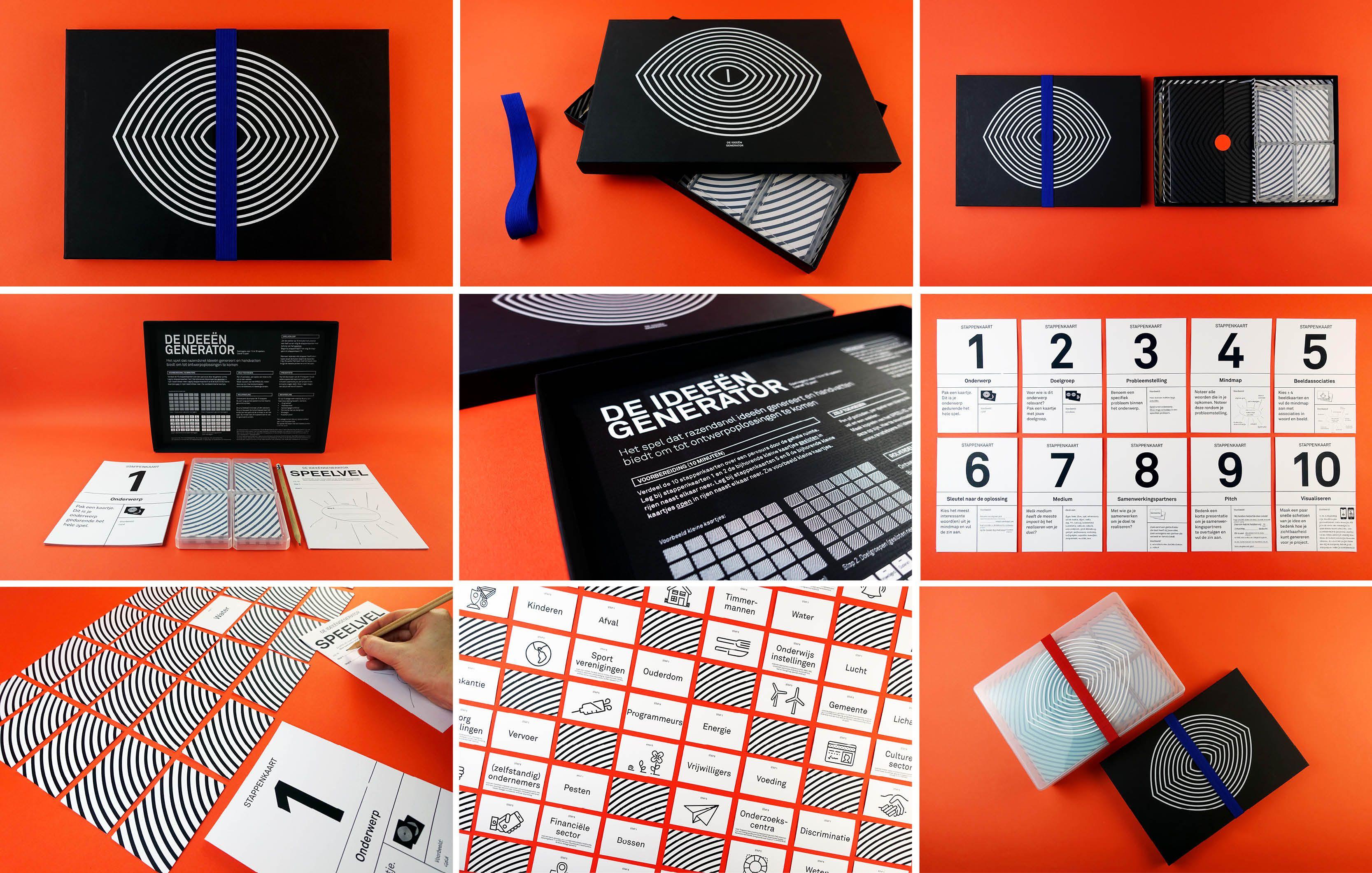 Game 'De Ideeëngenerator' / 'The Idea Generator' by