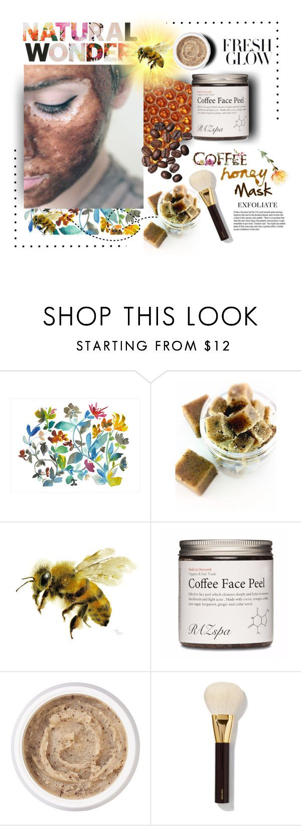 """Coffee/Honey Mask"" by mkanzee ❤ liked on Polyvore featuring beauty, Dot & Bo, Aromatherapy Associates, Tom Ford, Garance Doré, naturalbeauty, organic and facemasks"