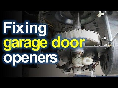 Craftsman Liftmaster Garage Door Opener Won T Open Or Close Replace The Stripped Gears Yo In 2020 Garage Doors Liftmaster Garage Door Craftsman Garage Door Opener