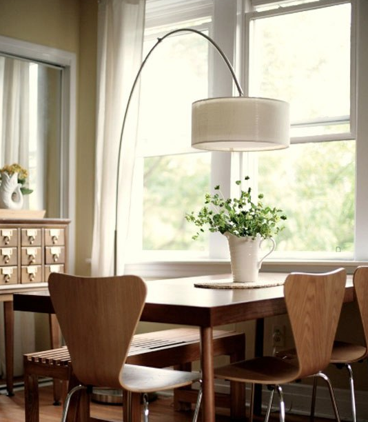 Click Interiores Luminarias De Piso Para Sala De Jantar