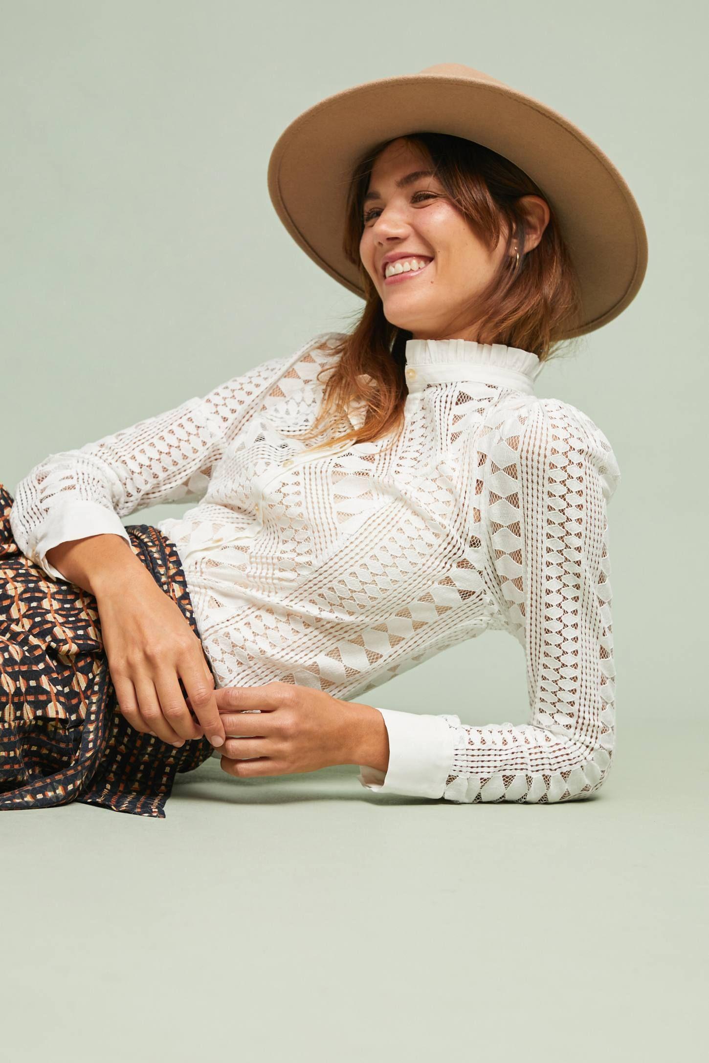 Laced Buttondown Lace shirt, Fashion, Lace