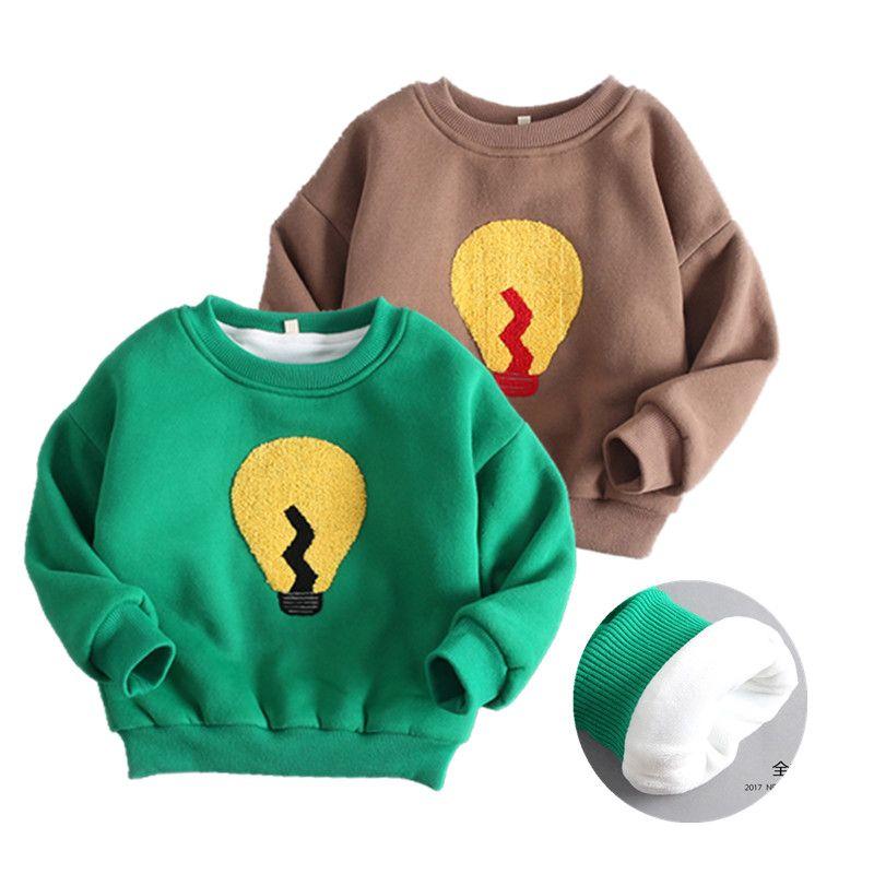 4b2e74681471 V-TREE Boys T Shirt Baby Boys Girls Winter Clothes Plus Velvet ...