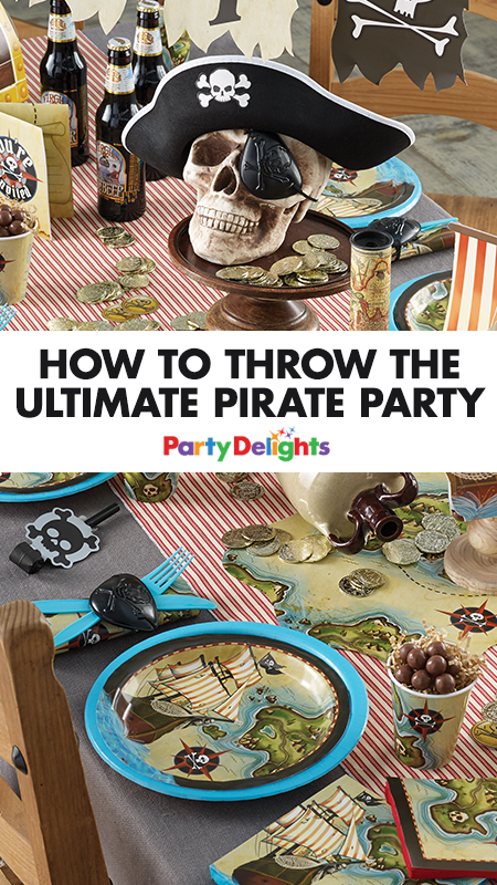 How to Throw the Ultimate Pirate Party #diypiratecostumeforkids