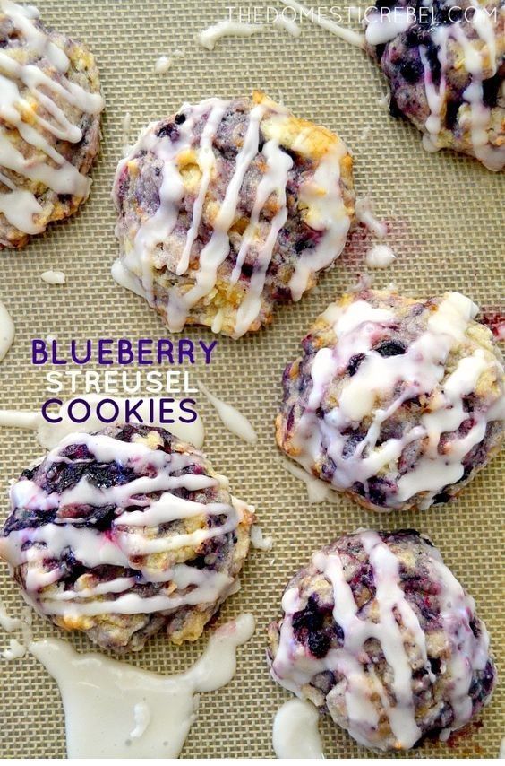 Muffin Mix Blueberry Streusel Kekse - #blueberry #kekse #muffin #streusel - #CookieRecipes #cookiesandcreamcake