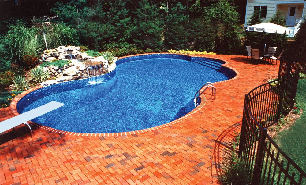 Inground Pools Spas Saunas Pool Fountain Inground Pool Cost Pool Cost