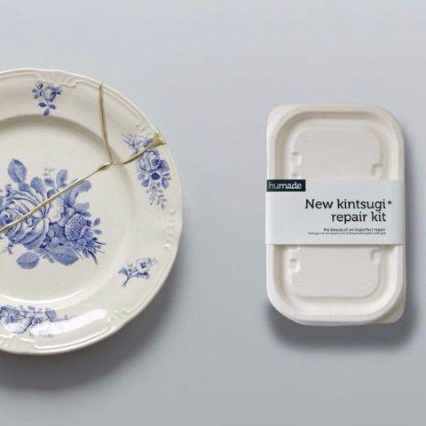 New KINTSUGI Repair Kit | Mora Approved - 20 pund - kan drikke fra kop repareret med dette
