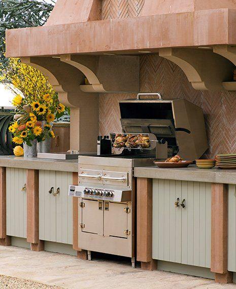 Cocinas en el exterior Armario de, Armario y Yeso