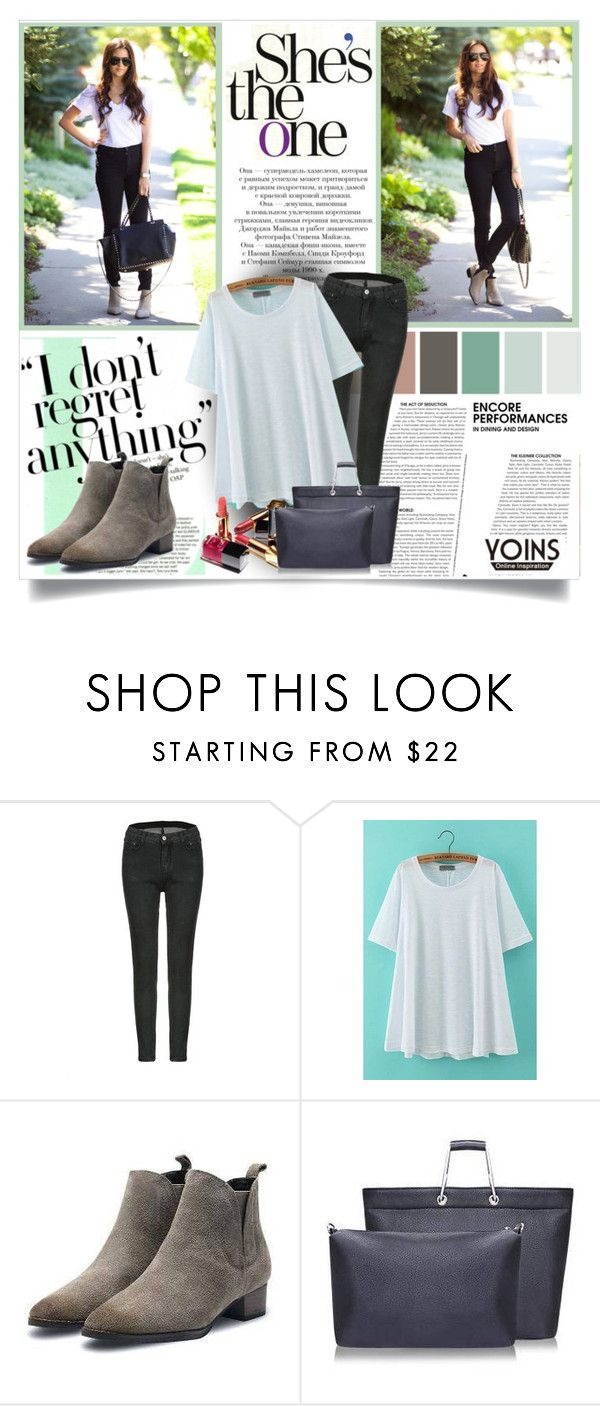 """""""Yoins #6"""" by ana-anaaaa ❤ liked on Polyvore featuring Chanel and yoins"""
