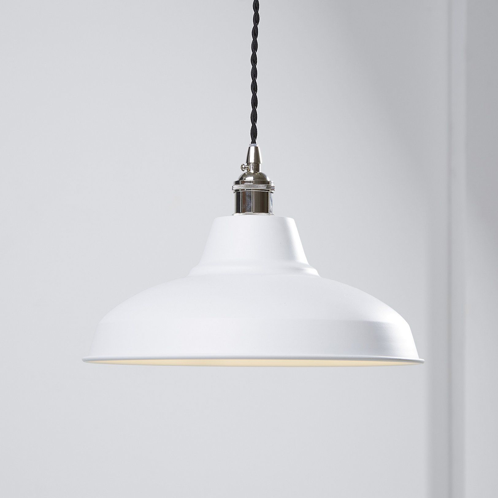 Milton Powder Coated Metal Ceiling Light Lights
