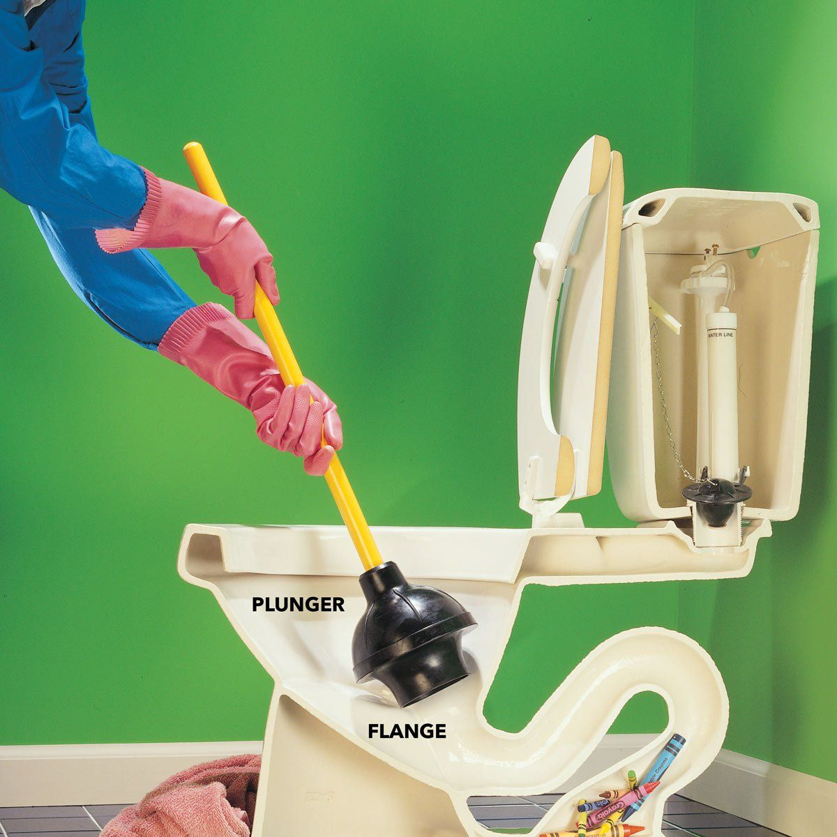 How to Unclog a Toilet How to unclog toilet, Toilet