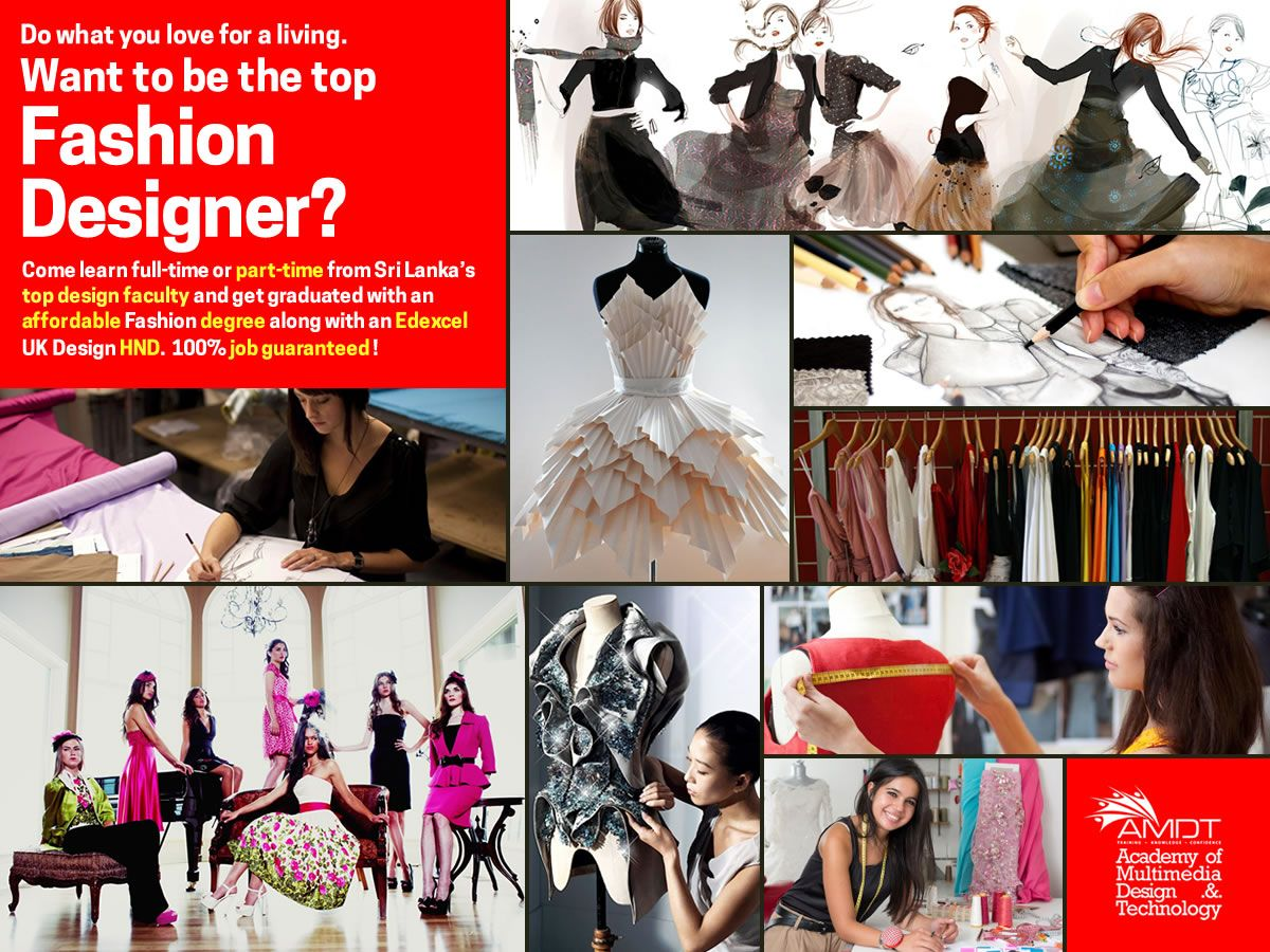 Want To Be The Top Fashion Designer Come Learn Full Time Or Part Time From Sri Lanka S Top Design Faculty And Top Design Fashion Tops Designs Fashion Degrees