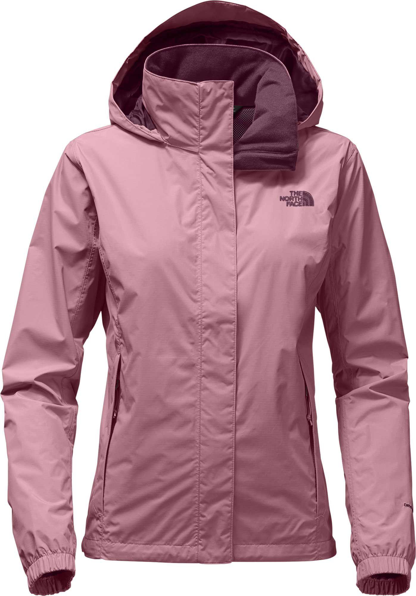 The North Face Women S Resolve 2 Rain Jacket North Face Women Jackets North Face Jacket