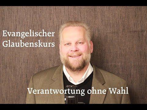 VERANTWORTUNG OHNE WAHL www.evangelischer-glaube.de