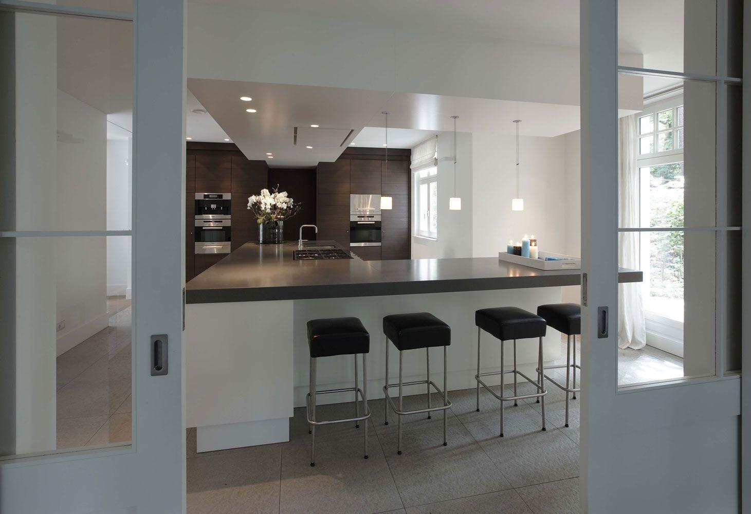 l shaped island cucc pinterest modernes wohnen k che und einrichten und wohnen. Black Bedroom Furniture Sets. Home Design Ideas