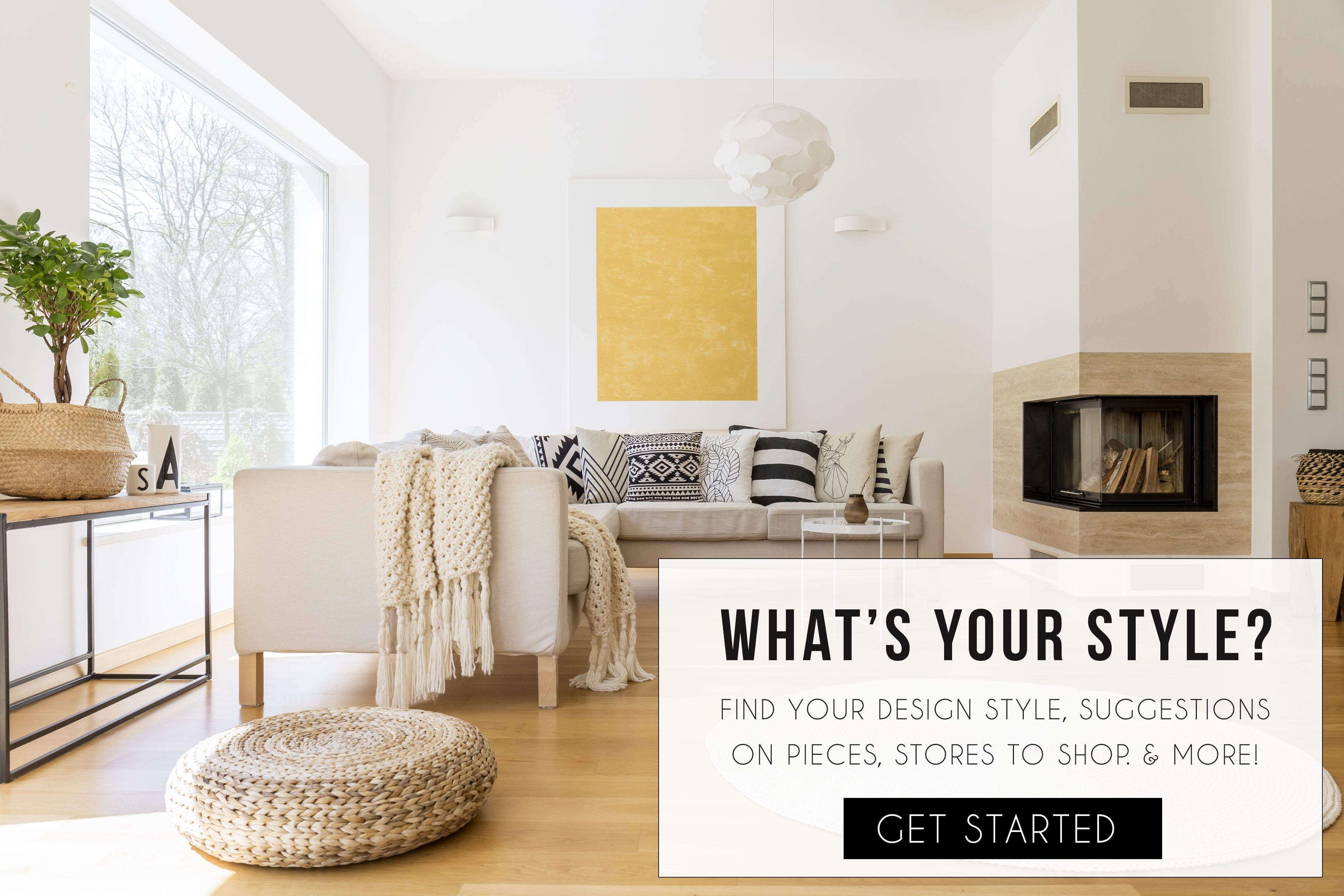 Take the free design style quiz find your style in 60 - Design your living room online free ...