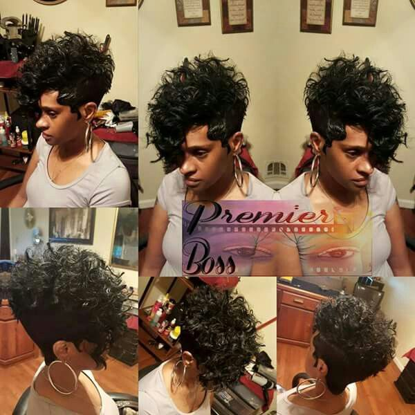 Short Curly Mohawk Short Cur Quick Weave Hairstyles Hair Styles 27 Piece Hairstyles