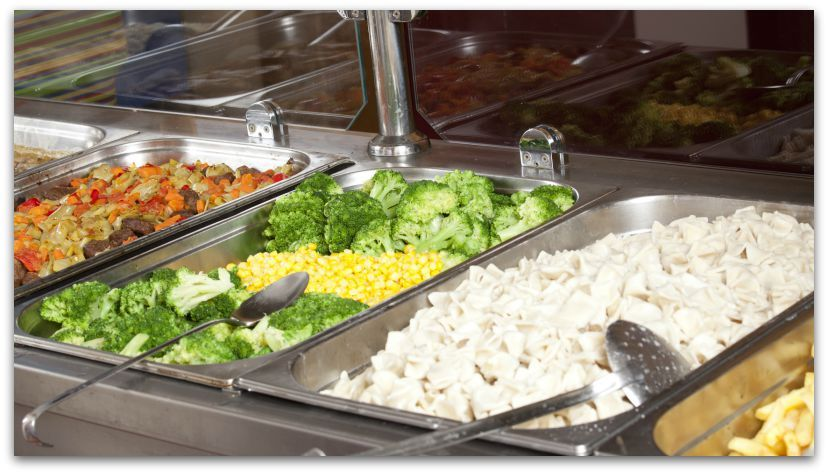 7 Yummy Facts About Ptison Food: Prisons have by and large sourced out its food service to for-profit companies that also service school cafeterias. They get a lot of food out of a dollar. The average cost per meal, per prisoner: under a dollar.
