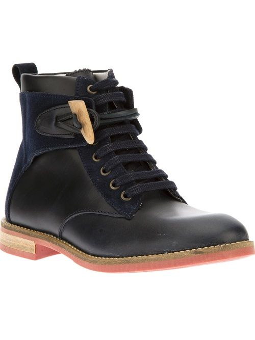 These are SO killer.  Swear Lace Up Boot, $244.00