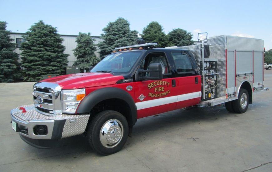 Security Fire Department Rosenbauer Max Fire