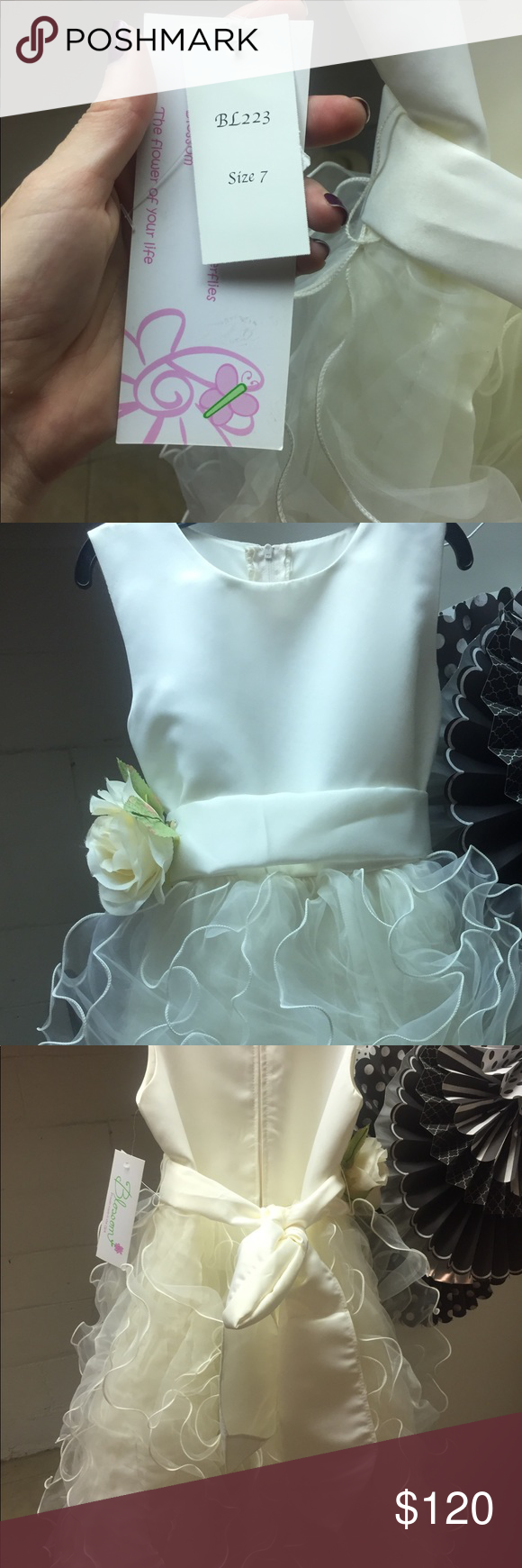 Young girls wedding dresses  Flower girl  special occasion dress NWT  Special occasion dresses
