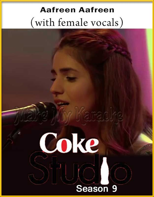 Aafreen Aafreen With Female Vocals With Sargam Vocals Coke Studio Season 9 Mp3 And Video Karaoke Format Mp3 Song Download Pakistani Songs Free Mp3 Music Download