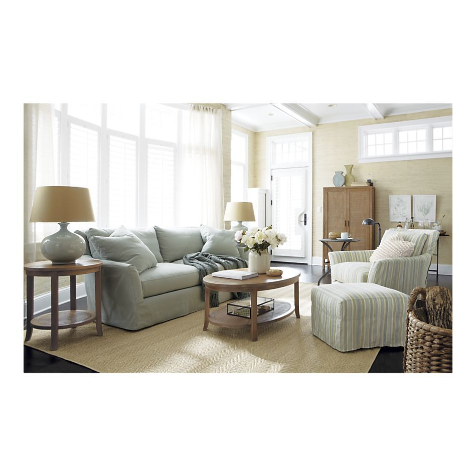 Forever Fun Ideas: Crate and Barrel Living Room | Accent pieces ...