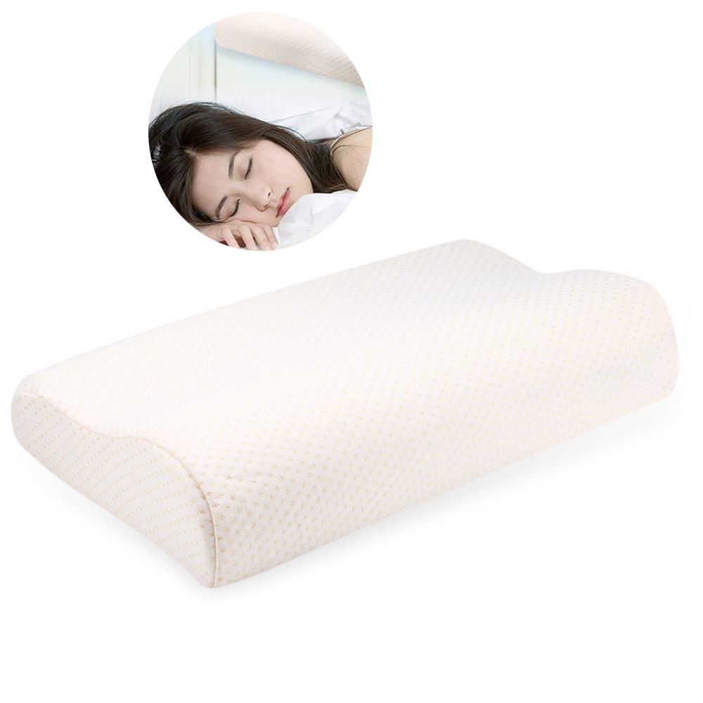 Comfortable Cervical Orthopedic Pillows Latex Neck Care Memory Foam Sleeping