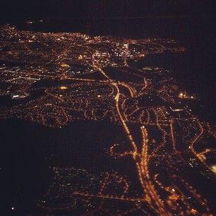 Trondheim by night. Instagramuser: @melilefs #travel #trondheim #norway