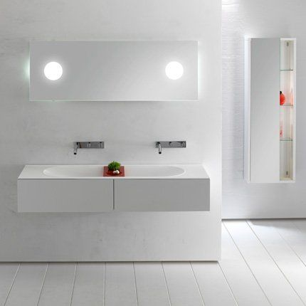 Meubles de salle de bains L2O de Sanijura