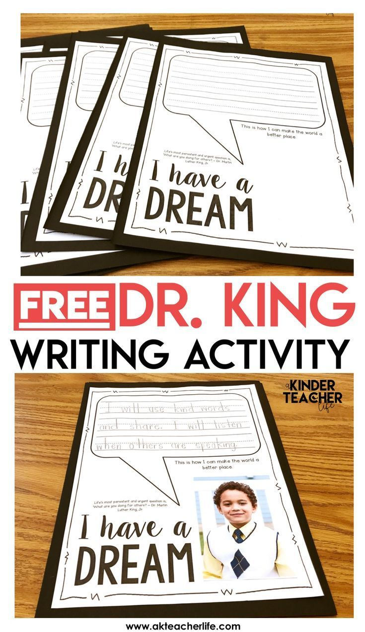 Free MLK Writing Activity - Students write how they can make the world a better place. Take their photo and display it in the classroom or on a bulletin board. Also includes a free sort worksheet. Students sort kind and unkind words. This is a engaging activity to honor the legacy of Dr. King!