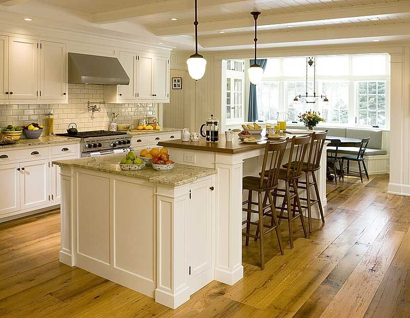 Kitchen Island Ideas Brick modern rustic kitchen island dine in | rustic wood floor kitchen