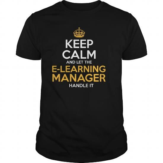 Awesome Tee For E-Learning Manager T-Shirts, Hoodies (22.99$ ==► Order Here!)