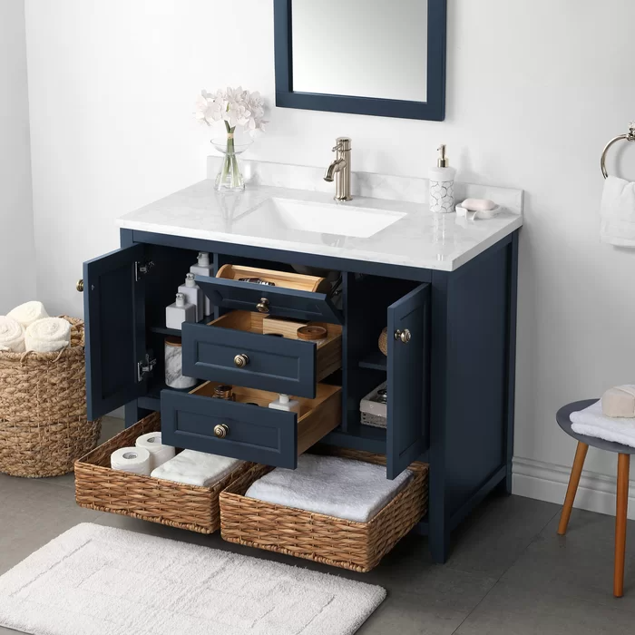 Lily Pond Granary 42 Single Bathroom Vanity Set In 2020 Single Bathroom Vanity Vanity Set Bathroom Vanity