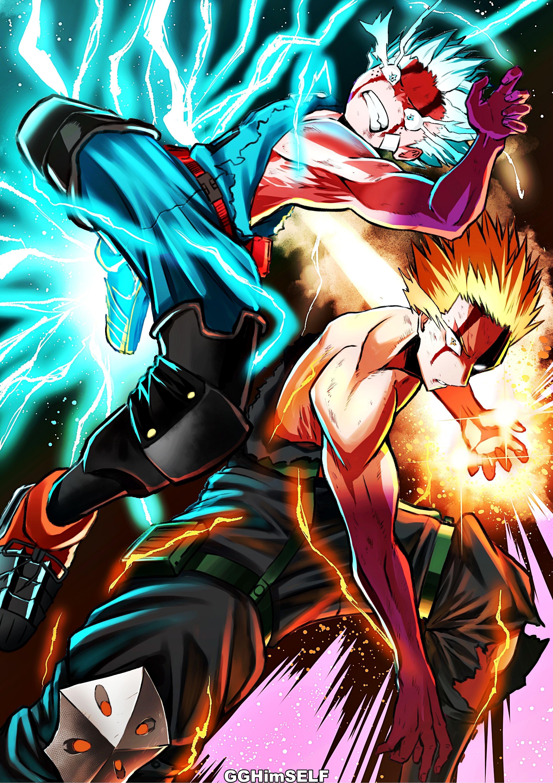 Boku No Hero Academia 1080p Wallpaper Hdwallpaper Desktop Best Action Anime My Hero My Hero Academia