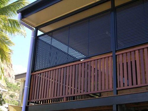 Aluminium Privacy Screens To Enclose Balcony Inspiring
