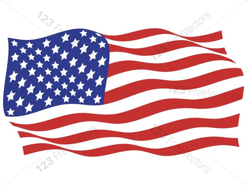 Usa Flags Vector Pack In 2020 Usa Flag Flag Vector Flag