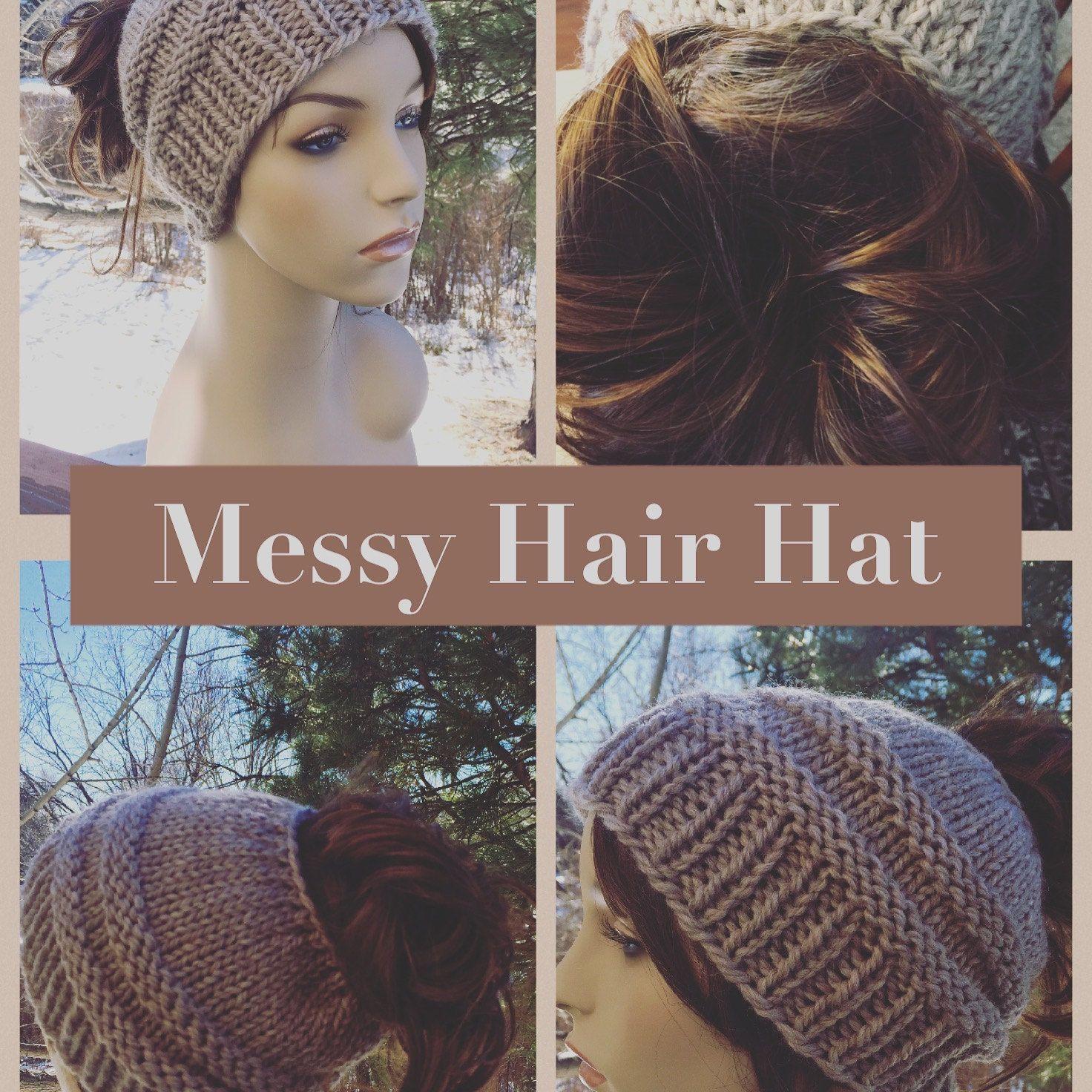 Knitted messy bun hat knit hat bun hat knit hat pattern knitted messy bun hat knit hat bun hat knit hat pattern knitting bankloansurffo Images