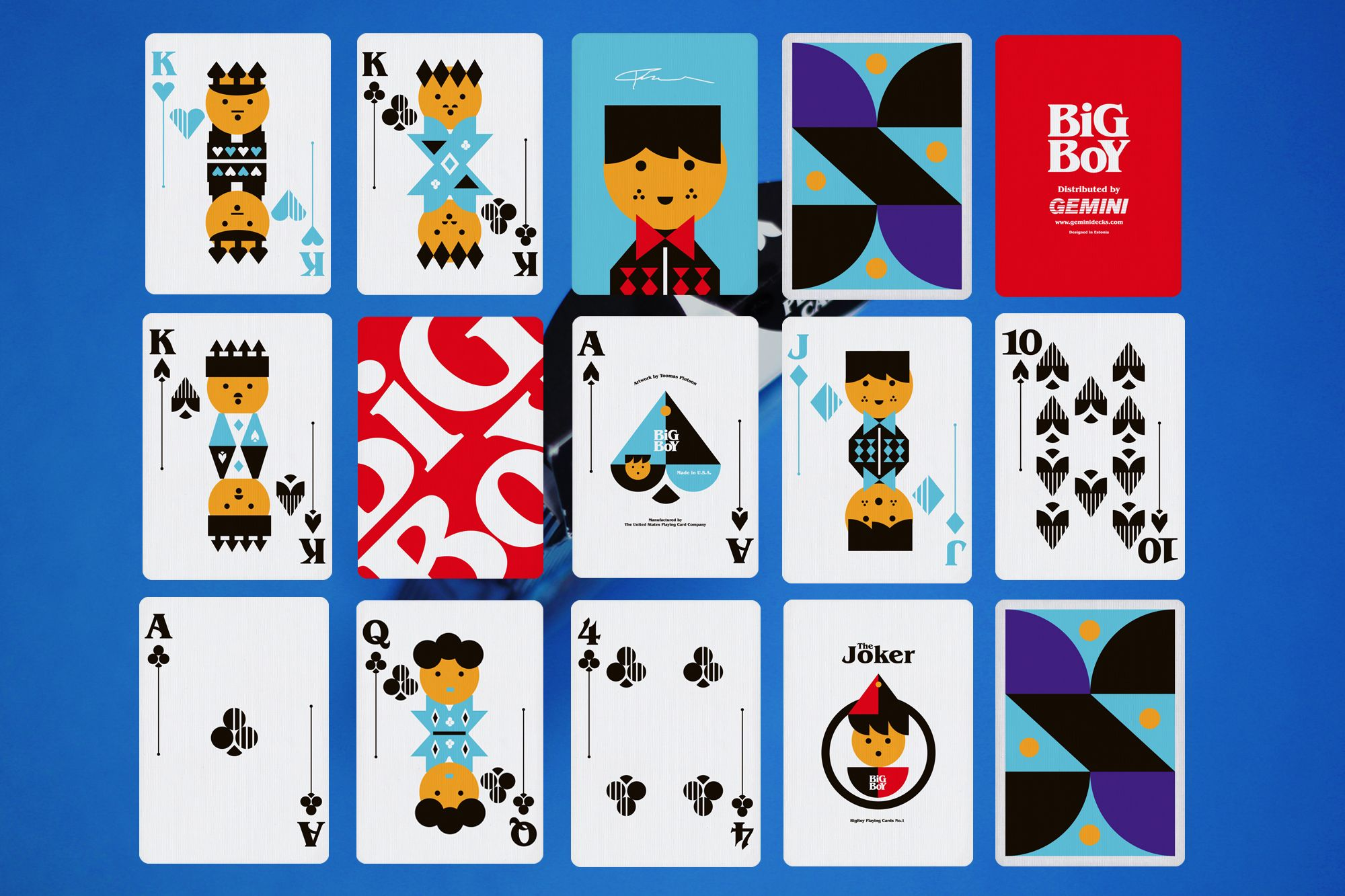 Results image for BIG BOY NO.1 PLAYING CARDS
