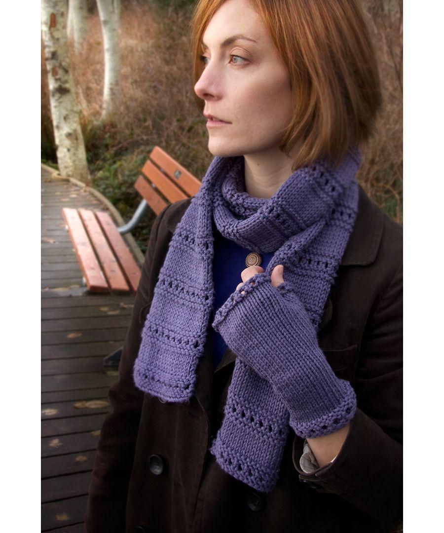 Free Knitting Pattern - Scarves: Montgomery Scarf BEGINNER ...