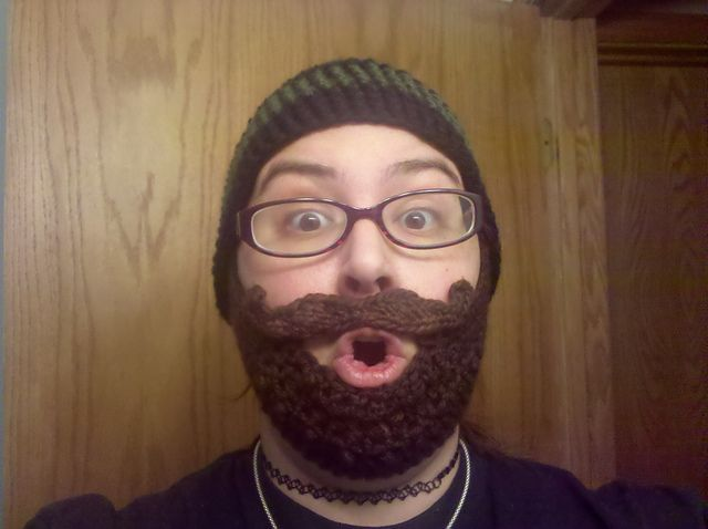 Another Free Crocheted Beard Pattern Crafty Stuff Pinterest