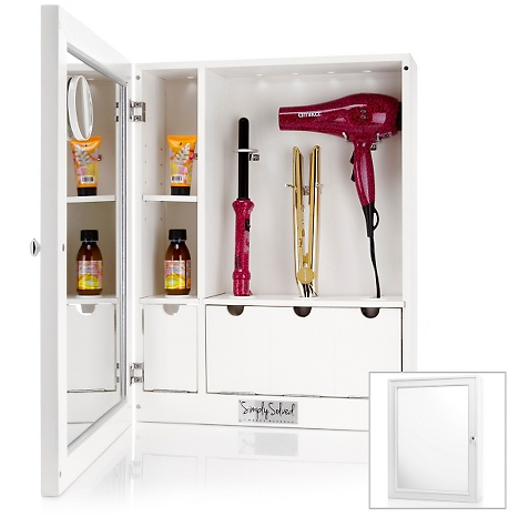 Bon Cabinet For Hair Care Products   Dryer, Curling Iron, Etc.