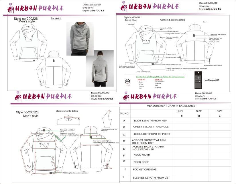 Urban Purple Bangalore India Fashion Apparel Graphic Design Design Management Tech Pack Tech Fashion Startup Fashion