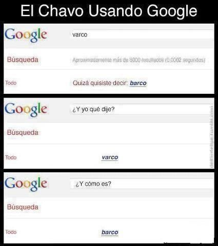 El Chavo Buscando En Google Imagenes De Risa Hilarante Conversaciones Graciosas