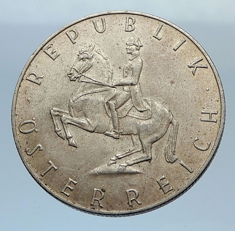 1960/'s SWITZERLAND 5 COIN SET UNCIRCULATED SILVER