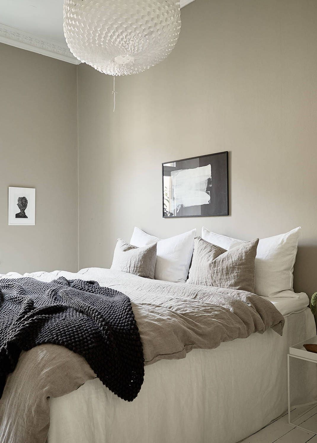 Home In A Natural Palette Coco Lapine Design Beige Walls Bedroom Bedroom Color Schemes Home Decor